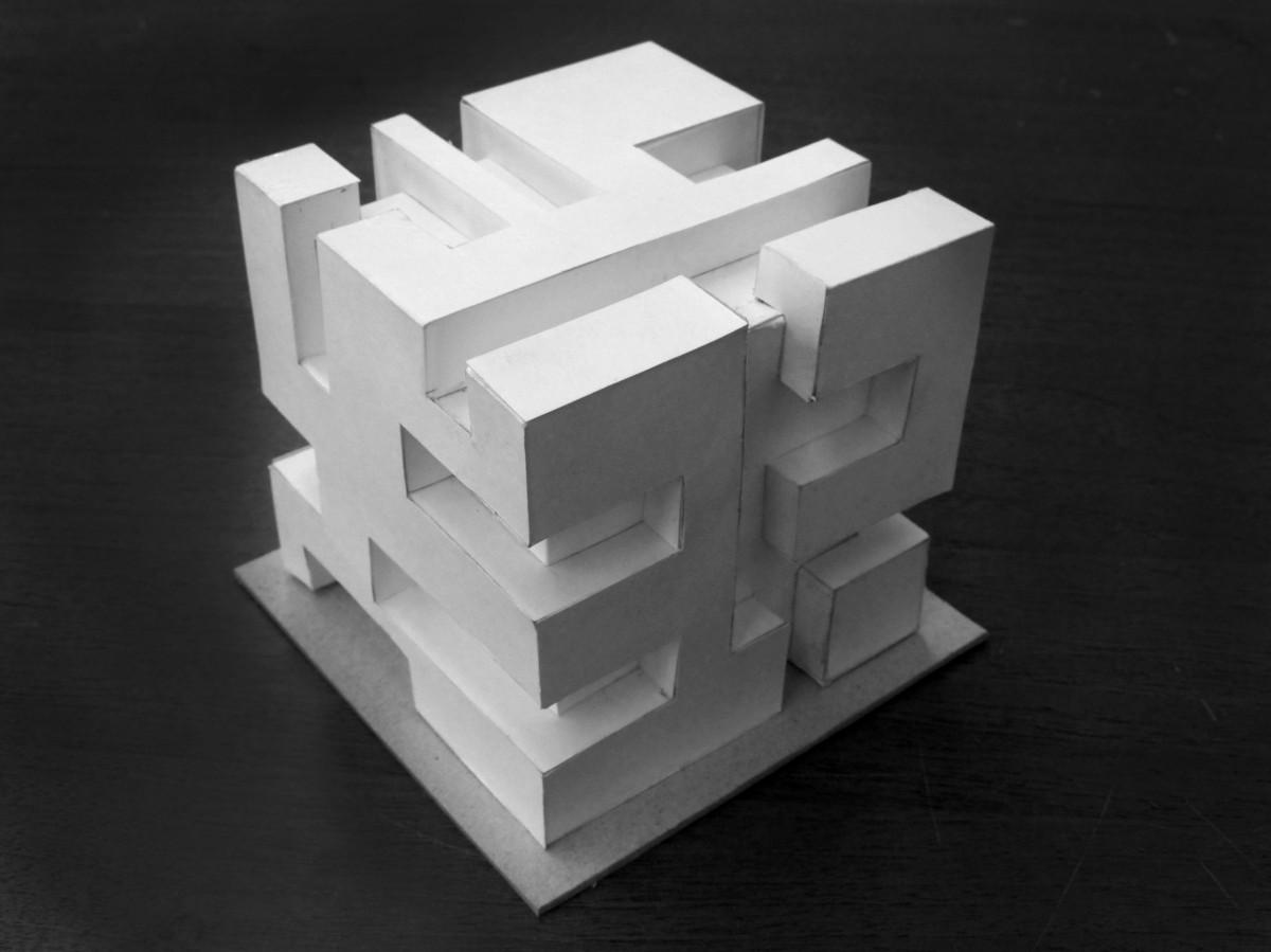 Как сделать бумажный кубик 36