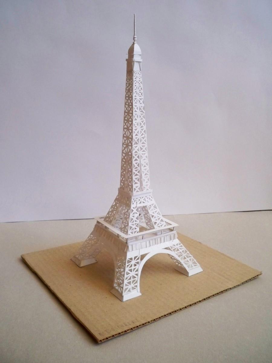 Эльфивая башня из бумаги своими руками 6