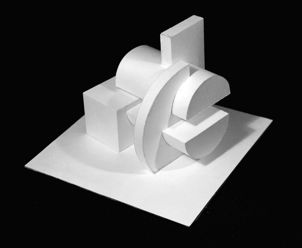 Объемно пространственные макеты из бумаги 75