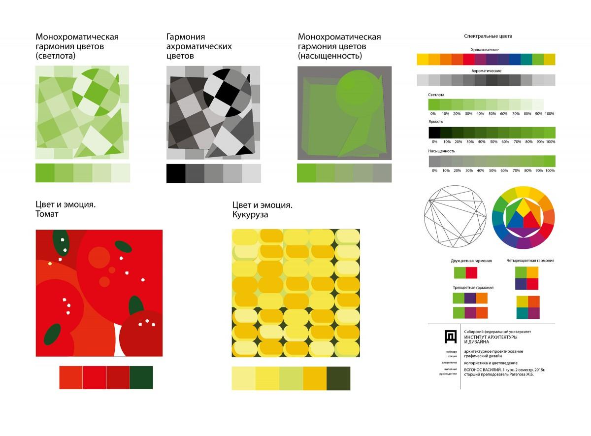 Цветовая схема в дизайне основы теория 30