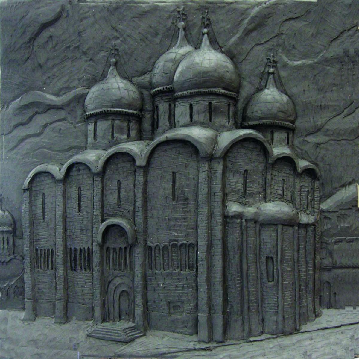 Рельеф успенского собора московского