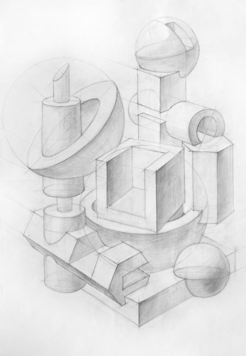Основы композиции- Как научиться рисовать