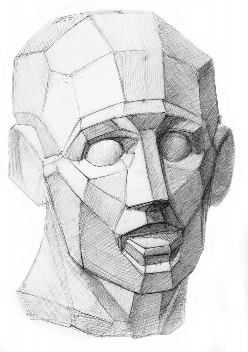 Рисунки обрубовочная голова
