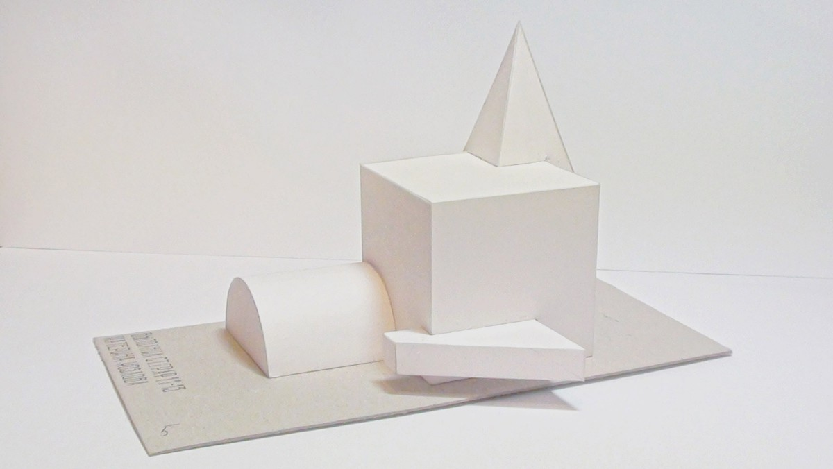 Объемно пространственные макеты из бумаги 109