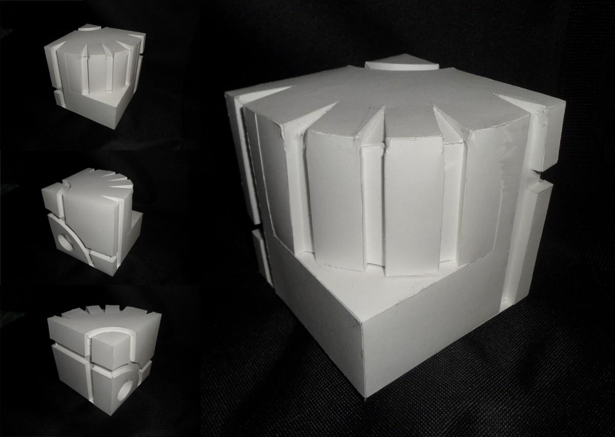 3d куб как сделать 122