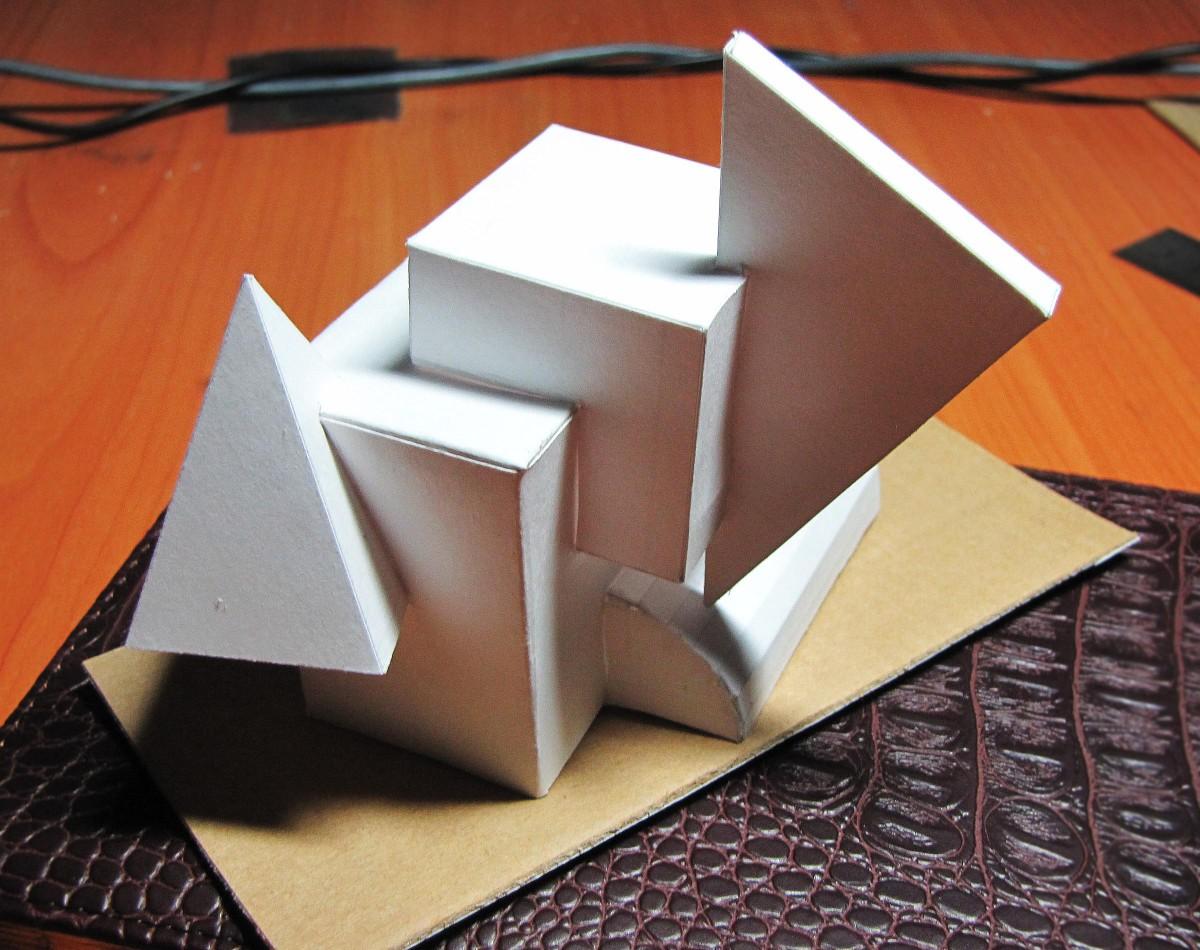 Сделать геометрических фигуры своими руками